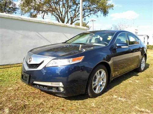 Photo Image Gallery & Touchup Paint: Acura TL in Royal Blue Pearl  (B536P)  YEARS: 2009-2009