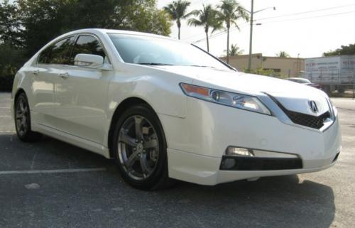 Photo Image Gallery & Touchup Paint: Acura TL in White Diamond Pearl  (NH603P)  YEARS: 2009-2011