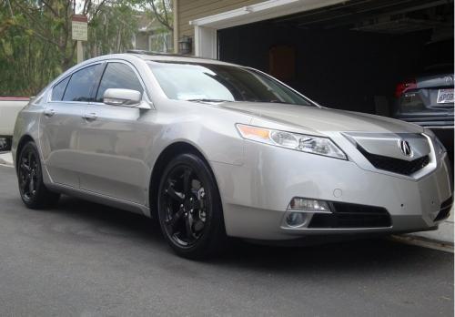Photo Image Gallery & Touchup Paint: Acura TL in Palladium Metallic   (NH743M)  YEARS: 2009-2011