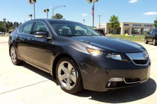 Photo Image Gallery & Touchup Paint: Acura TL in Graphite Luster Metallic  (NH782M)  YEARS: 2012-2014