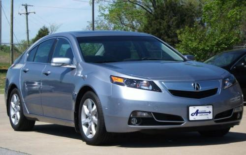 Photo Image Gallery & Touchup Paint: Acura TL in Forged Silver Metallic  (NH789M)  YEARS: 2012-2012