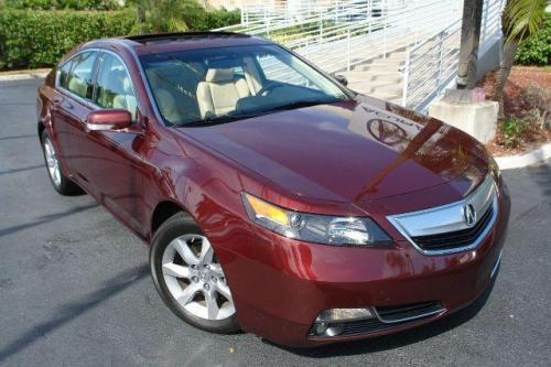 Photo Image Gallery & Touchup Paint: Acura TL in Basque Red Pearl  (R530P)  YEARS: 2009-2012