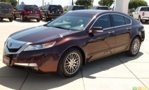 Photo Image Gallery & Touchup Paint: Acura TL in Mayan Bronze Metallic  (YR569M)  YEARS: 2009-2012