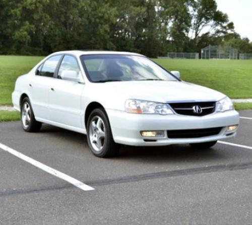 Photo Image Gallery & Touchup Paint: Acura TL In White