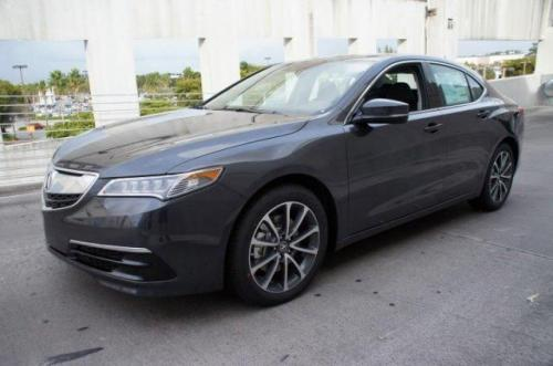 Photo Image Gallery & Touchup Paint: Acura Tlx in Graphite Luster Metallic  (NH782M)  YEARS: 2015-2016
