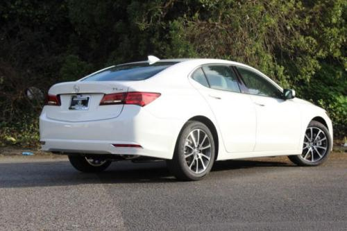 Photo Image Gallery & Touchup Paint: Acura Tlx in Bellanova White Pearl  (NH788P)  YEARS: 2015-2018