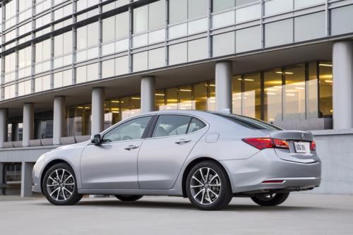 Photo Image Gallery & Touchup Paint: Acura Tlx in Slate Silver Metallic  (NH829M)  YEARS: 2015-2016