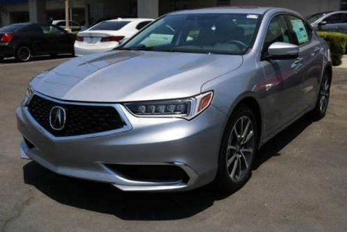 Photo Image Gallery & Touchup Paint: Acura Tlx in Lunar Silver Metallic  (NH830M)  YEARS: 2017-2019