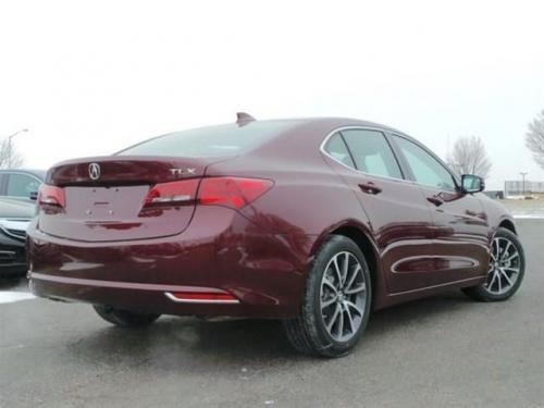 Photo Image Gallery: Acura Tlx in Basque Red Pearl 2 (R548P)  YEARS: -