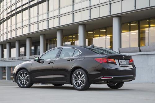 Photo Image Gallery & Touchup Paint: Acura Tlx in Black Copper Pearl  (YR601P)  YEARS: 2015-2018
