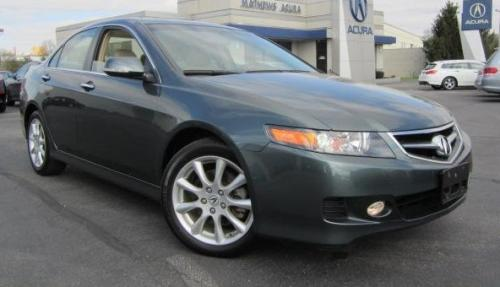 Photo Image Gallery & Touchup Paint: Acura Tsx in Deep Green Pearl  (G516P)  YEARS: 2006-2008
