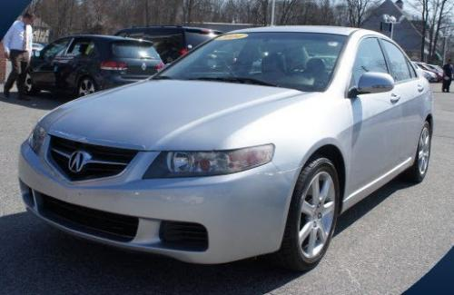 Photo Image Gallery & Touchup Paint: Acura Tsx in Satin Silver Metallic  (NH623M)  YEARS: 2004-2005