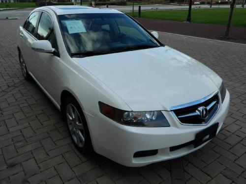 Photo Image Gallery & Touchup Paint: Acura Tsx in Premium White Pearl  (NH624P)  YEARS: 2004-2008