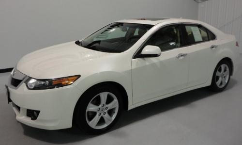 Photo Image Gallery & Touchup Paint: Acura Tsx in Premium White Pearl  (NH624P)  YEARS: 2011-2011