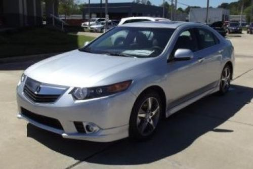 Photo Image Gallery & Touchup Paint: Acura Tsx in Silver Moon Metallic  (NH700M)  YEARS: 2012-2014