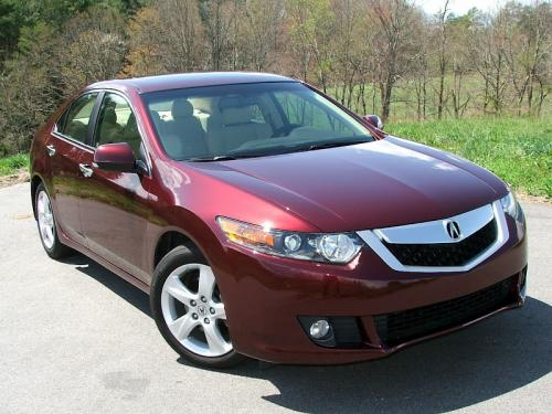 Photo Image Gallery & Touchup Paint: Acura Tsx in Basque Red Pearl  (R530P)  YEARS: 2009-2012