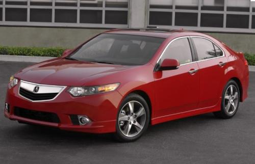 Photo Image Gallery & Touchup Paint: Acura Tsx in Milano Red   (R81)  YEARS: 2013-2014