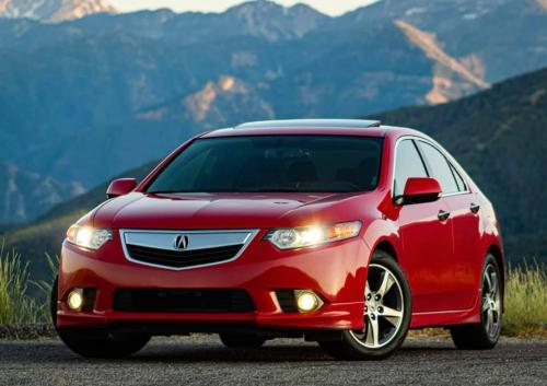 Photo Image Gallery & Touchup Paint: Acura Tsx in Milano Red   (R81)  YEARS: 2012-2014