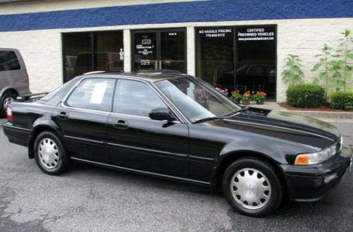 Photo Image Gallery & Touchup Paint: Acura Vigor in Granada Black Pearl  (NH503P)  YEARS: 1992-1994