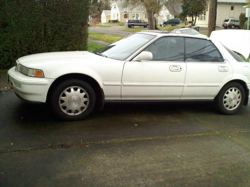 Photo Image Gallery & Touchup Paint: Acura Vigor in Taffeta White   (NH578)  YEARS: 1994-1994