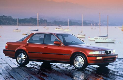 Photo Image Gallery & Touchup Paint: Acura Vigor in Persian Red Pearl  (R65P)  YEARS: 1992-1992
