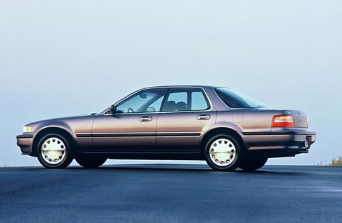 Photo Image Gallery & Touchup Paint: Acura Vigor in Rosewood Brown Metallic  (YR503M)  YEARS: 1992-1992
