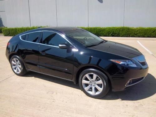 Photo Image Gallery & Touchup Paint: Acura Zdx in Crystal Black Pearl  (NH731P)  YEARS: 2010-2013