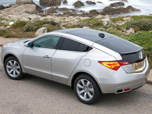 Photo Image Gallery & Touchup Paint: Acura Zdx in Palladium Metallic   (NH743M)  YEARS: 2010-2013