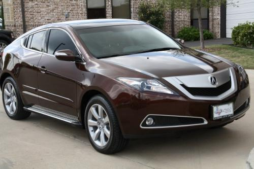 Photo Image Gallery & Touchup Paint: Acura Zdx in Ionized Bronze Metallic  (YR580M)  YEARS: 2010-2011