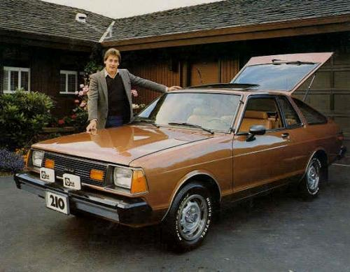 Photo Image Gallery & Touchup Paint: Datsun 210 in Light Brown Metallic  (842)  YEARS: 1981-1981