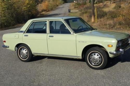 Photo Image Gallery & Touchup Paint: Datsun 510 in Gray Green   (546)  YEARS: 1968-1968