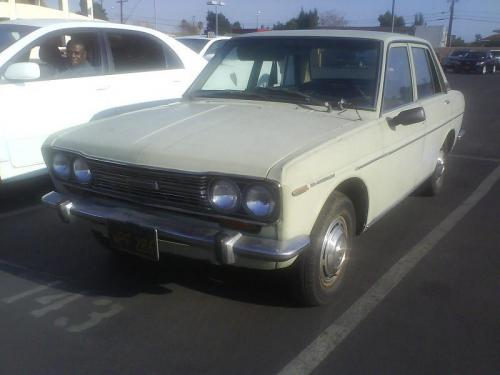 Photo Image Gallery & Touchup Paint: Datsun 510 in Off White   (655)  YEARS: 1968-1968