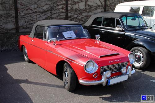 Photo Image Gallery & Touchup Paint: Datsun Sports in Cherry Red   (525)  YEARS: 1963-1966