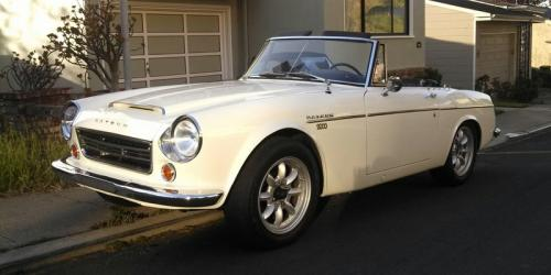 Photo Image Gallery & Touchup Paint: Datsun Sports in Off White   (655)  YEARS: 1967-1970