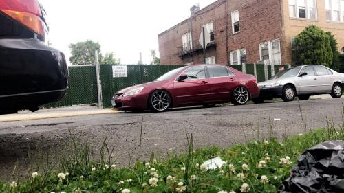 Photo Image Gallery & Touchup Paint: Honda Accord in Redondo Red Pearl  (B522P)  YEARS: 2006-2006
