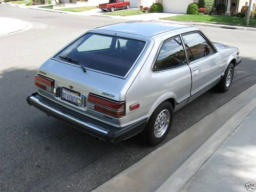 Photo Image Gallery & Touchup Paint: Honda Accord in Stmoritz Silver Metallic  (NH62M)  YEARS: 1980-1981