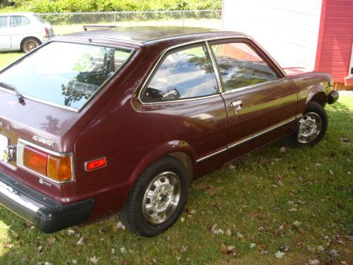 Photo Image Gallery & Touchup Paint: Honda Accord in Maroon Metallic   (R34M)  YEARS: 1978-1978