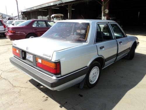 Photo Image Gallery & Touchup Paint: Honda Accord in Stratos Blue Metallic  (B30M)  YEARS: 1984-1985