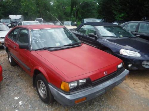 Photo Image Gallery & Touchup Paint: Honda Accord in Dominican Red   (R46)  YEARS: 1984-1984