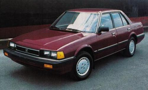 Photo Image Gallery & Touchup Paint: Honda Accord in Regency Red Metallic  (R48M)  YEARS: 1984-1985
