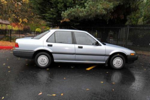 Photo Image Gallery & Touchup Paint: Honda Accord in Stratos Blue Metallic  (B30M)  YEARS: 1986-1987