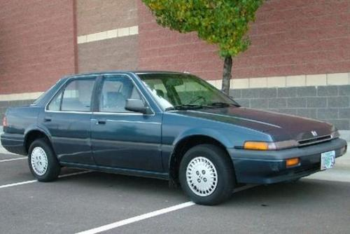 Photo Image Gallery & Touchup Paint: Honda Accord in Sonic Blue Metallic  (B33M)  YEARS: 1986-1987