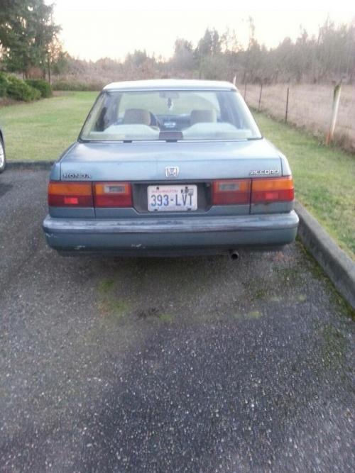 Photo Image Gallery & Touchup Paint: Honda Accord in Monterey Green Metallic  (BG20M)  YEARS: 1989-1989