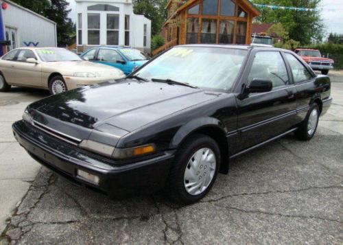 Photo Image Gallery & Touchup Paint: Honda Accord in Granada Black Pearl  (NH503P)  YEARS: 1988-1989