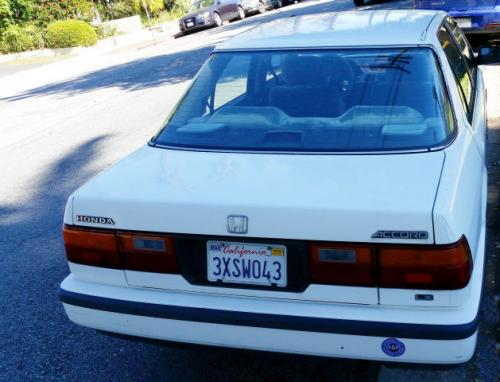 Photo Image Gallery & Touchup Paint: Honda Accord in Polar White   (NH512)  YEARS: 1988-1989