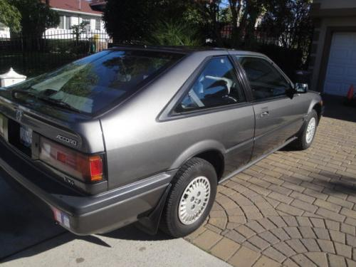 Photo Image Gallery & Touchup Paint: Honda Accord in Graphite Gray Metallic  (NH91M)  YEARS: 1986-1987