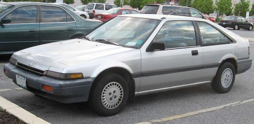 Photo Image Gallery & Touchup Paint: Honda Accord in Blade Silver Metallic  (NH95M)  YEARS: 1986-1987