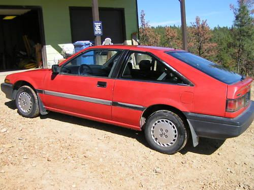 Photo Image Gallery & Touchup Paint: Honda Accord in Phoenix Red   (R51)  YEARS: 1988-1989