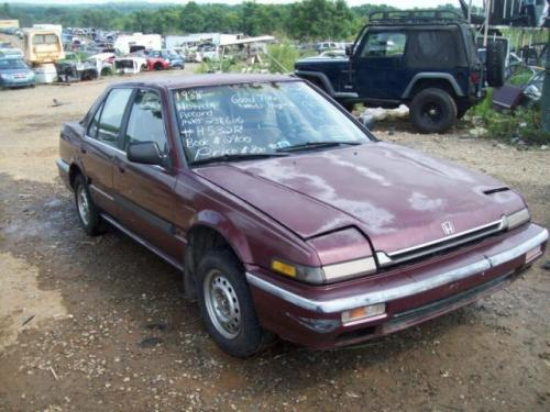 Photo Image Gallery & Touchup Paint: Honda Accord in Chateau Red Metallic  (R61M)  YEARS: 1988-1988