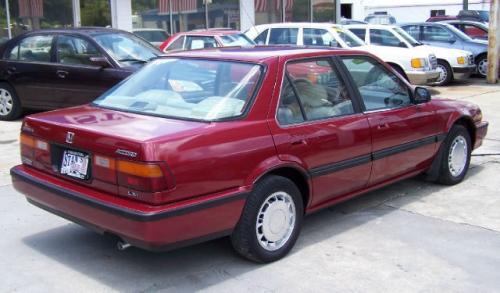 Photo Image Gallery & Touchup Paint: Honda Accord in Navajo Red Metallic  (R70M)  YEARS: 1989-1989